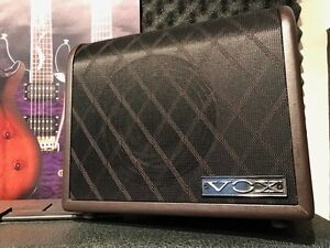 New Vox AGA-30 acoustic and vocal 2 channel guitar amp MINT