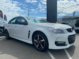 2016 Holden Commodore VF II MY16 SV6 Black White 6 Speed Sports Automatic Sedan Cardiff Lake Macquarie Area Preview