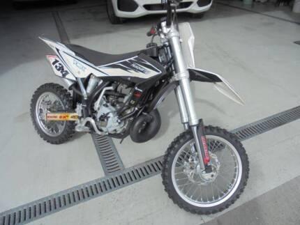 Husqvarna CR65 dirt bike