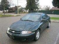 2003 Chevrolet Cavalier ONLY 114000 km! LOCAL ONE OWNER!