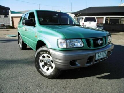 2000 Holden Frontera MX S Green 5 Speed Manual Wagon Yeerongpilly Brisbane South West Preview