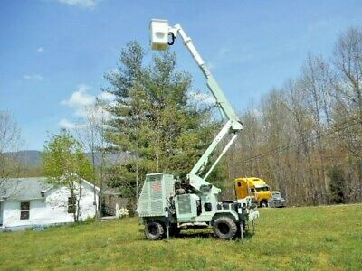 2001 Terex Tl38p Single Man Articulating Bucket Lift 40ft Portable Driving