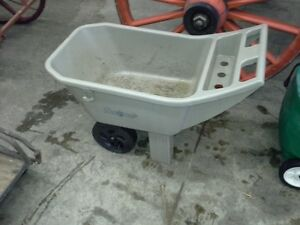 Plastic Gardening Wheel Barrel