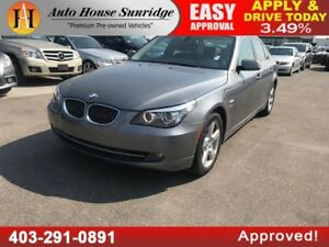 2010 BMW 5 Series 528i xDrive ALL WHEEL DRIVE NAVIGATION LOW KMS