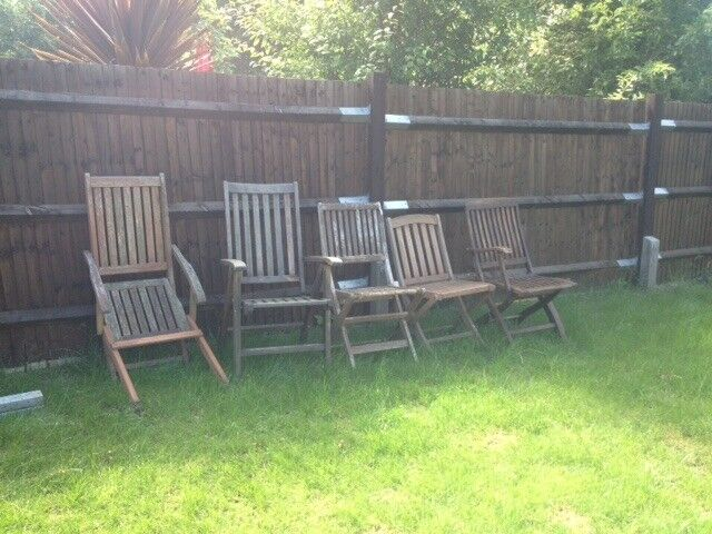 Terrific Joblot Of Folding Garden Chairs For Spares Or Repair In Southampton Hampshire Gumtree Pabps2019 Chair Design Images Pabps2019Com