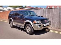 Mitsubishi Shogun Sport 2.5 TD Equippe 5dr LOW MILEAGE ONLY 63K