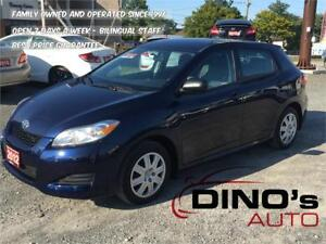 2012 Toyota Matrix | $63 Weekly $0 Down *OAC / Air Condition