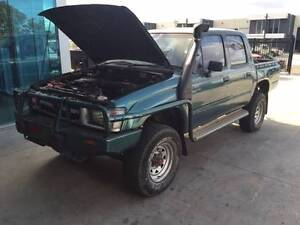 WRECKING - 1998 Toyota Hilux 3.0L 5L Diesel 4WD Dual Cab Werribee Wyndham Area Preview