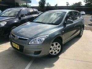 2010 Hyundai i30 FD MY10 SX Grey 4 Speed Automatic Hatchback Seven Hills Blacktown Area Preview