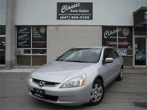 2005 Honda Accord Sdn LX-G** NO ACCIDENTS**