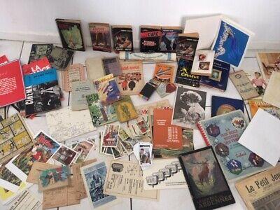 Gros lot de vieux papiers revues divers en tous genre VOIR PHOTOS