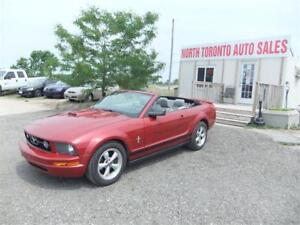 2008 Ford Mustang CONVERTIBLE V6 AUTOMATIC CERTIFIED!!