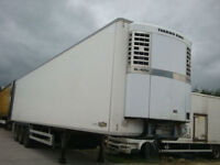 2006 Chereau Tri Axle Refeigrated Trailer 2.6M Internal Height