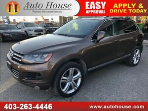 2013 VOLKSWAGEN TOUAREG V6 HIGHLINE  NAVIGATION BACKUP CAMERA