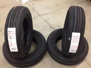 4 New Road Rider Tires without Rims (ST205/75R15)