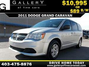 2011 Dodge Grand Caravan SE $89 BI-WEEKLY APPLY NOW DRIVE NOW