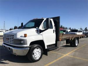 2007 GMC C5500 - DuraMax - Diesel - 18 Ft Flat Bed