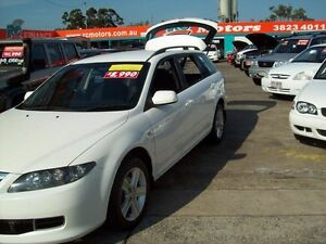 2006 Mazda 6 GY1032 Classic White 5 Speed Automatic Wagon Capalaba West Brisbane South East Preview