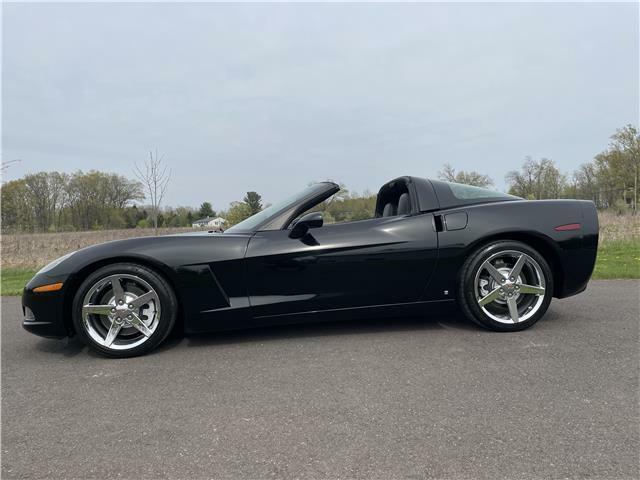 2006 Black Chevrolet Corvette  3LT | C6 Corvette Photo 4