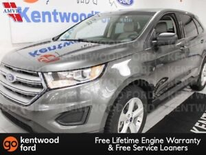 2015 Ford Edge SE FWD with push start and black interior but cre