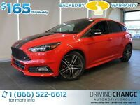 2015 Ford Focus ST Heated Steering Wheel/Leather Seats-Sync