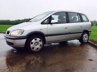 Vauxhall Zafira 1.6 7 seater - vw sharan touran espace scenic s max ford galaxy seat estate mondeo