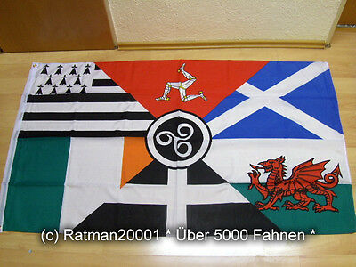 Fahne Flagge Irland Celtic Nation Flagge - 90 x 150 cm
