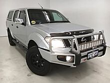 2013 Nissan Navara D40 S5 MY12 ST-X 550 Silver 7 Speed Sports Automatic Utility Edgewater Joondalup Area Preview