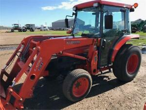 Kubota L3430 Tractor and Loader