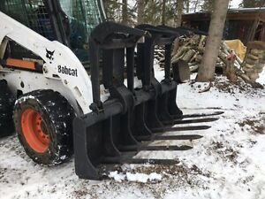 BOBCAT attachment HEAVY DUTY ROOT GRAPPLER