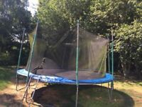 Trampoline Used 14ft