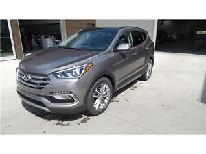 2017 Hyundai Santa Fe Sport Limited Manager Demo now only $35188