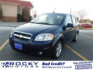 Chevrolet Aveo LT - CHECK OUT OUR BACK TO SCHOOL SPECIALS