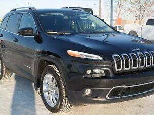 2016 Jeep Cherokee LIMITED 4X4*Leather*Heated Seats*Back-up Came