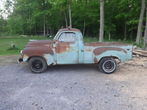 1951 Studebaker 2r5 shortbox project