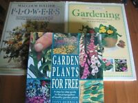 Three good Gardening books