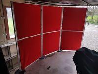 Nimlok 6 panel exhibition display boards