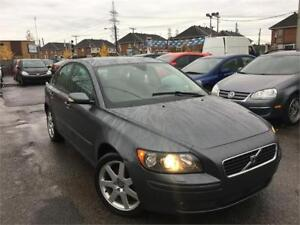 VOLVO S40 2006/MANU/AC/TOIT OUVRANT/MAGS/CRUISE/BAS KM/118 569KM