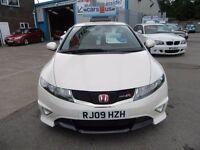 Honda Civic I-VTEC TYPE-R CHAMPIONSHIP WHITE 3d 198 BHP (white) 2009