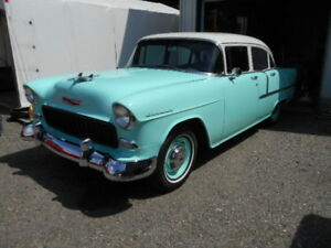 A qui la chance!!!! Chevrolet Bel air 1955