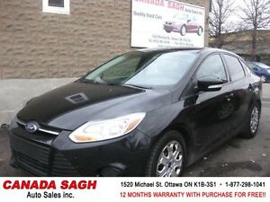 2014 Ford Focus LOADED AUTOMATIC,FEELS NEW! 12M.WRTY+SAFETY 7990