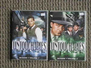 2 Coffrets films DVD (Série TV) - The Untouchables saison 1