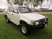 2003 Toyota Hilux VZN167R MY02 SR5 White 5 Speed Manual Utility Berrimah Darwin City Preview