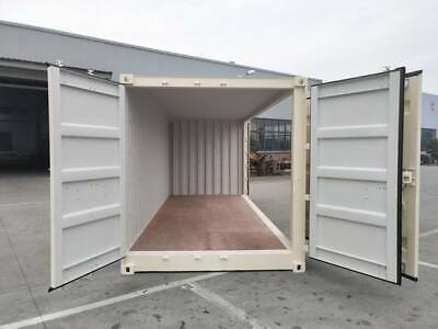Brand New Shipping Containers Open Side And Double Doors 20 And 40 Ft Units