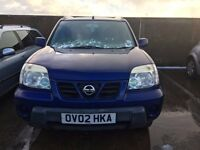 2002 Nissan X-trail, 2.0 petrol, for parts only, all parts available