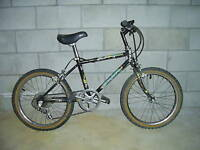 Boys Black Leader Brand Bike 5 speed with hand brakes