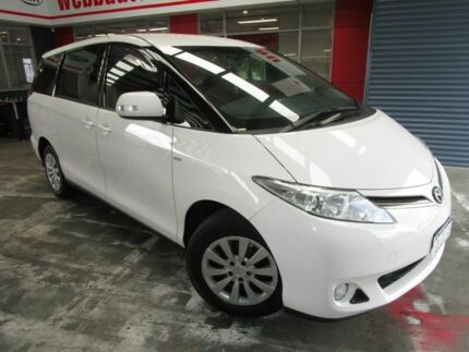 2014 Toyota Tarago ACR50R MY13 GLi White 7 Speed Constant Variable Wagon Welshpool Canning Area Preview