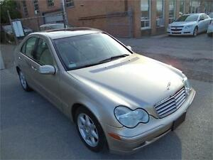 2004 Mercedes-Benz C-Class 2.6L AWD NO RUST VERY RELIABLE