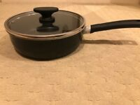 TEFAL optima saute / frying pan d:26cm with glass lid (gas,electric,ceramic hob)