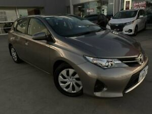 2015 Toyota Corolla ZRE182R Ascent S-CVT Bronze 7 Speed Constant Variable Hatchback